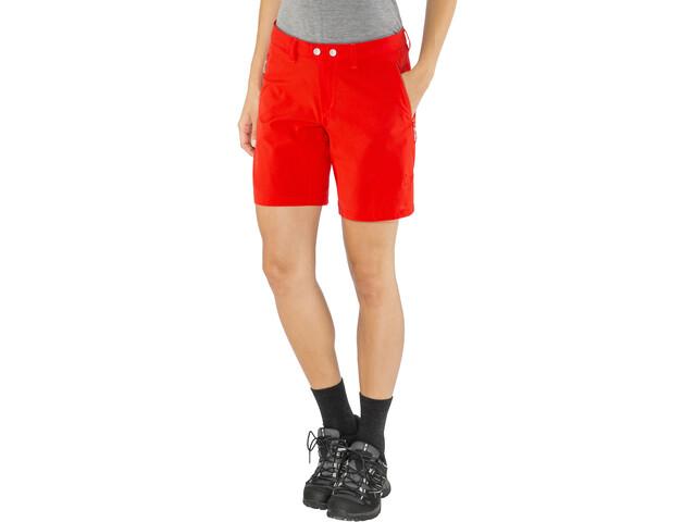 Norrøna Bitihorn Flex1 Pantalones cortos Mujer, tasty red